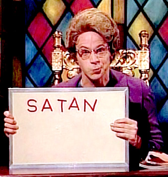 Oh, so your VIN ends in a 666, your car is named the Hellcat, and you've fathered 9 children in the backseat?  Isn't that special...  Hmmm...  Who could be in charge of this?  Well...Could it be....Satan?